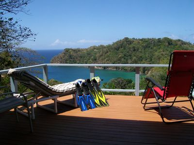 Photo for Green Acre Cottage, spectacular vista of Englishman's Bay