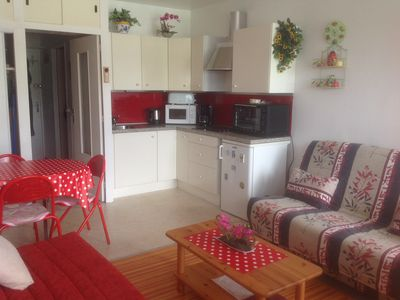 Photo for Beautiful studio 4/5 persons 250m from the slopes with lift