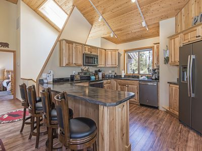 Photo for Beautifully Updated Sunriver Home Has Multiple Decks, Bikes, SHARC Passes and Hot Tub!