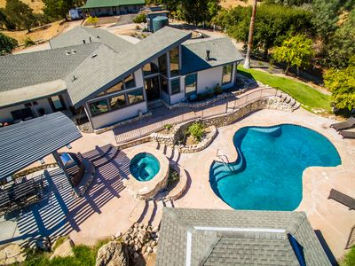 Photo for Deer Mountain--Privacy,Views, Pool & Spa, Minutes from Downtown Paso Robles!