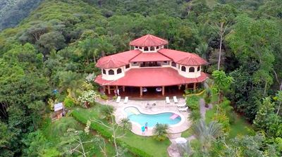 Photo for Toucans, Mountains & Waterfalls!  Jungle Villa w/ full staff.  30% off May dates