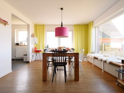 Photo for Luxurious, modern apartment with large garden, sauna and terrace