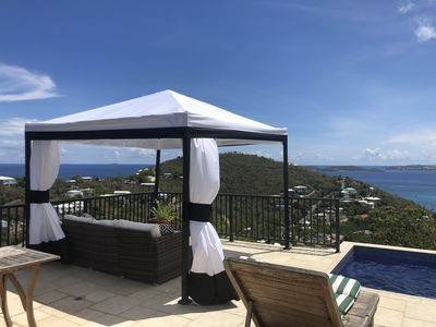 Photo for Private Pool luxury 1 bedroom Ocean view - 5 minutes from Cruz Bay