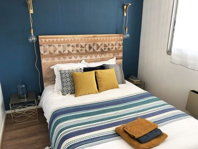 Photo for T2 with garden, near beaches - WIFI & Parking