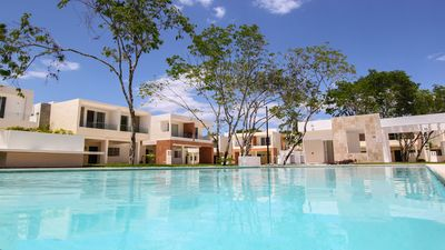 Photo for Villa las Palmas. Fantastic 3 bedroom house with pool view!