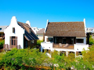 Luxury 5 Bedroom/5.5 Bath Rosemary Beach Home on South side of 30a