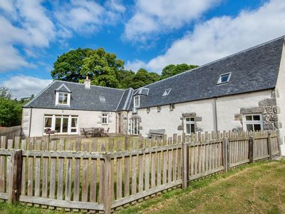 Photo for Large holiday home in a quiet location not far from Drumnadrochit & Loch Ness