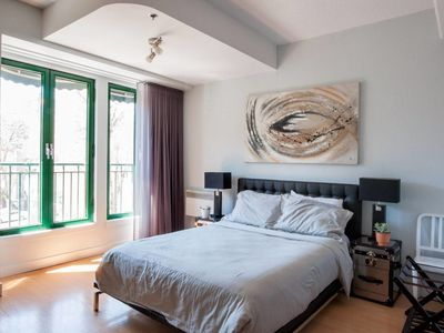Photo for Stylish Studio in Le Plateau - One Bedroom Apartment, Sleeps 2