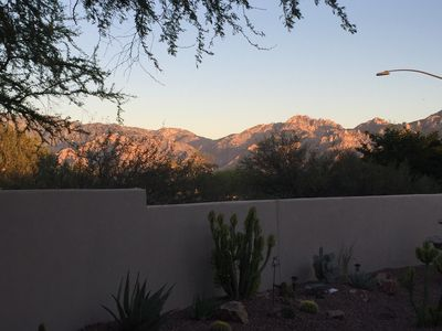 Enjoy beautiful views of the Catalina Mountains!