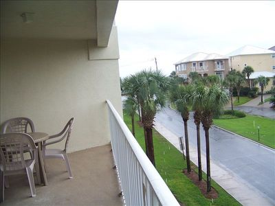 view from westward facing balcony