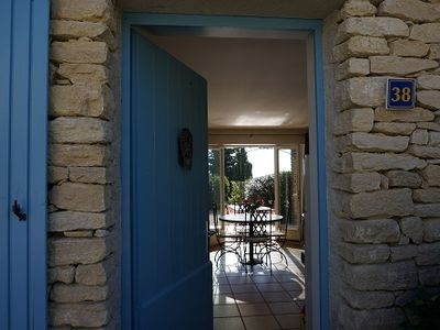 Photo for Labastidette of Gordes, with private garden, overlooking the Luberon, swimming pool ...