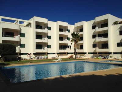 Photo for 2 bedroom apartment near the sea with pool views and mature garden