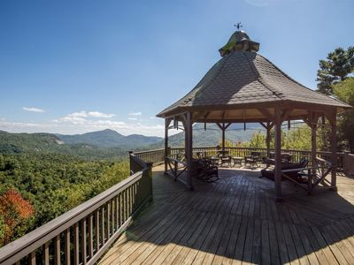 Photo for *Spectacular* Amazing mountain vistas and large covered decks.