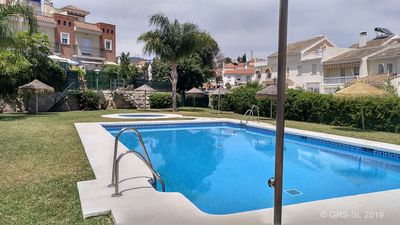 Photo for New!! 500m beach, swimming pool, Garage, 6 people, paddle