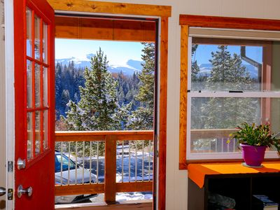 Photo for Views of Breckenridge Mtn on the Sunny Deck, Wooded, Wi-Fi, Easy to Downtown!