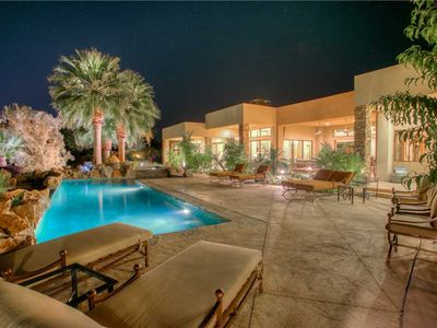 Photo for Private estate just a mile from the famed El Paseo Shopping strip in Palm Desert