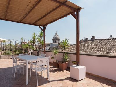 Photo for Campo De Fiori Amazing Terrace