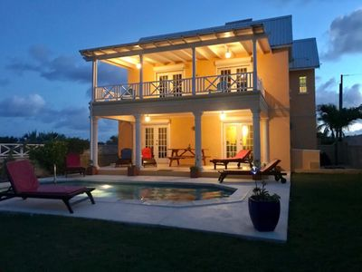 Photo for Private with Pool, Gorgeous Seaviews & Short Walk To Beach