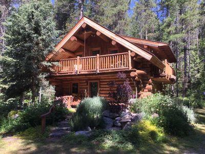 Photo for Log Home Near Glacier National Park