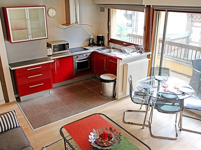 Photo for Apartment Les Cigognes in Deauville-Trouville - 4 persons, 1 bedrooms