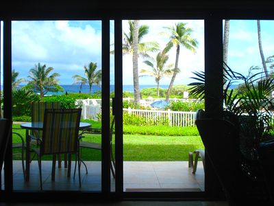 Photo for OCEANFRONT CONDO, Luxurious 1 Bedroom • Secluded • Private  • Romantic