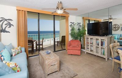 Photo for 704 Sunswept  BD/1.5 * DIRECTLY ON THE BEACH** BEAUTIFUL WALK IN SHOWER**