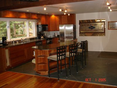 Large, open gourmet kitchen with granite and more- you'll love cooking in here!
