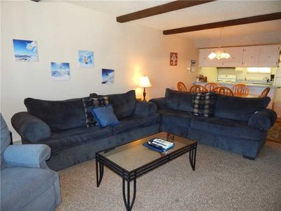 Photo for Free in unit wi-fi, flat screen TV and  spacious floor plan in our 2 bedroom condo rental