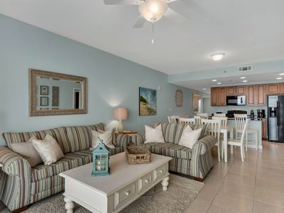 Photo for Sleeps 9 - OWNER MANAGED, SPOTLESS  Beach-front, Close To Pier Park!