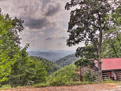 Photo for Sevierville Cabin w/ 2 Decks & Smoky Mtn. Views!