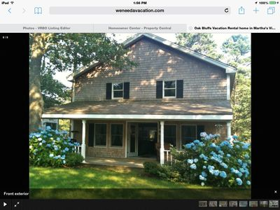 Photo for Beautiful home.  Short walk to private Lagone Pond 3 bedrooms 2 full baths