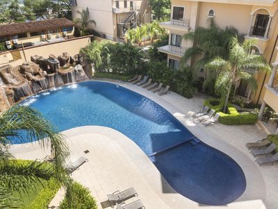 Photo for Sunrise 3 BR Condo, directly across the street from Tamarindo Beach! (SR33)