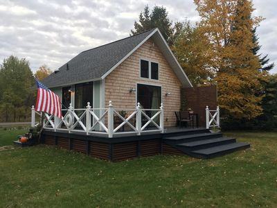 Photo for Lux Little Chalet On Lake Superior 3 Mi From Calumet. Sleeps 4 Comfortably.