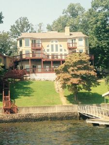Photo for 'The View' is an Expansive 3-Story Home at Lake of the Ozarks