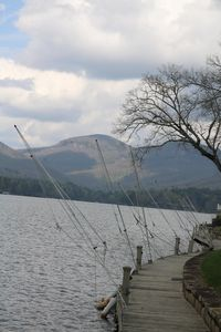 Boat dock and fishing pier with spectacular mountain views. 150 ft of dock 4 you