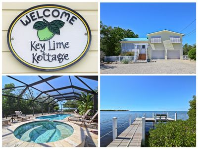 Photo for Key Lime Kottage- Waterfront Home on Gulf of Mexico w/ Private Pool, Dock & More