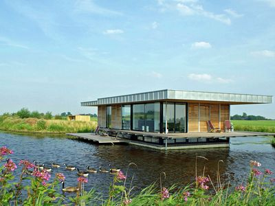 Photo for Stunning House Boat in Goëngahuizen with Sauna
