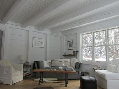 Photo for Maine Waterfront- Rustic-Modern Scandinavian Style Cottage. Private & Secluded!
