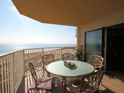 Photo for Inlet Reef 207: Gulf Front Escape (2 Bed / 2 Bath - 1,362sq ft.)