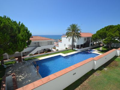 Photo for La Bufera - Sleeps 6, three bedrooms , 2 bathrooms , balcony, comunal Pool.