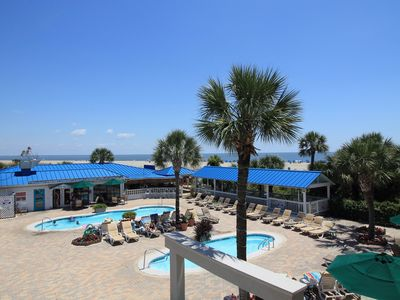 3 BR In Oceanfront Complex: 3 Pools and Private Hot Tub