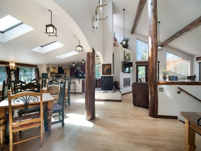Spacious open floor plan is perfect for getting together
