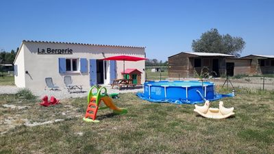 Photo for La Bergerie, Gîte in a wildlife park for 6 people
