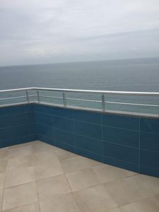 Photo for Penthouse with fantastic sea views
