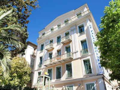 Photo for Stately apartment in a formal hotel in the heart of Nice