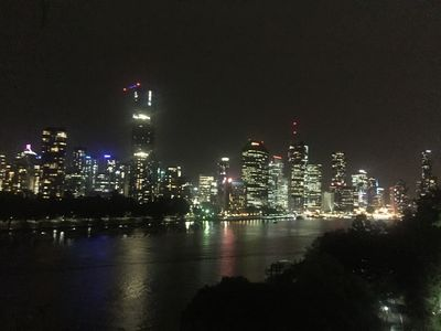 200m to this awesome view from The Cliffs at night