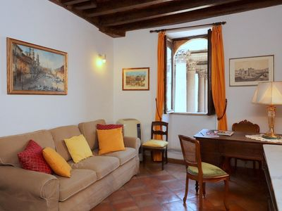 Photo for Pantheon Stunning view & Comfort - Apartment for 4 people in Roma