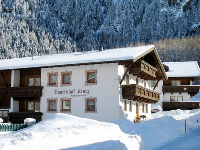 Photo for Apartment Bauernhof Klotz (SOE661) in Sölden - 4 persons, 1 bedrooms