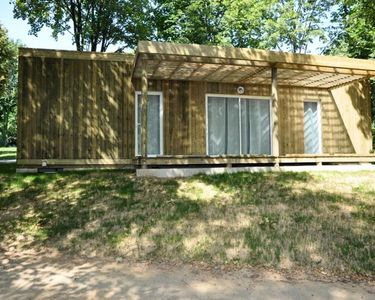 Photo for Camping de Rouffiac *** - Chalet Lake 3 Rooms 4/6 People