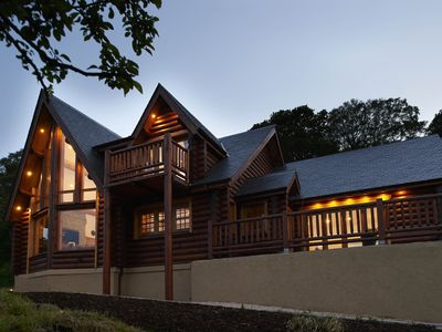 Photo for Luxury Lodge with Spectacular Views